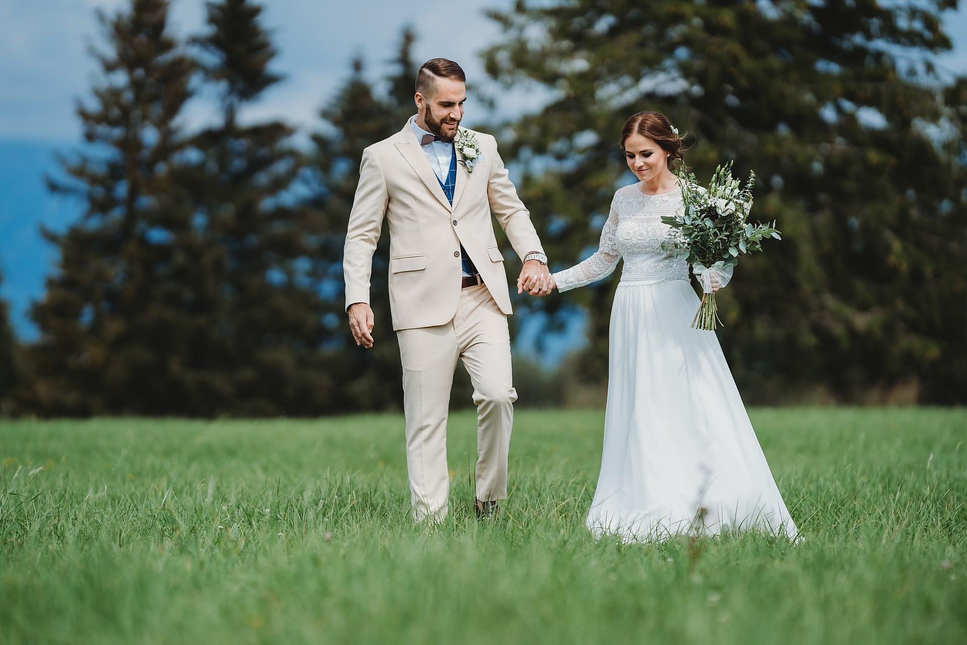 Svadobný fotograf Liptov - svadba pod Kriváňom