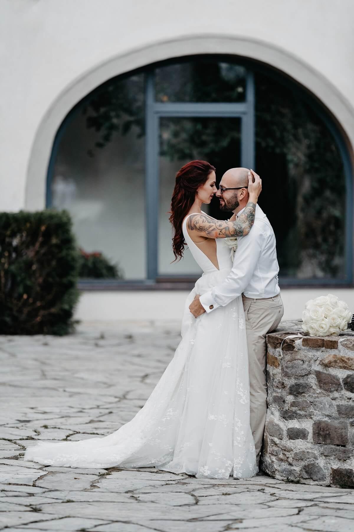 Svadobné fotky vo fitness centre - Svadobné fotografie na zámku - Svadobný fotograf Michal Reiberger Liptov - Svadobný fotograf Liptovský Mikuláš